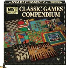 Classic Games Compendium, instructions for 100 games including board games, dice