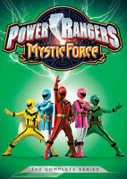Power Rangers: Mystic Force: The Complete Series (4 Disc) DVD NEW