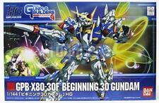 Gunpla Builders 1/144 HG #006 GPB-X80-30F Beginning 30 Gundam Model Kit Bandai