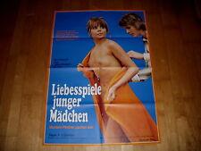 Kinoplakat:  Liebesspiele junger mädchen  CHRISTINE SCHUBERTH