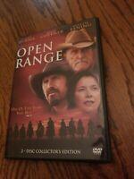 Open Range DVD 2-Disc Set Collector's Edition Robert Duvall Kevin Costner 2004