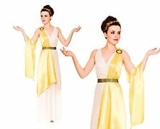 Ladies GREEK GODDESS Ancient Times Toga Roman Adult Fancy Dress Costume Godess