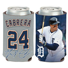 Detroit Tigers Can Cooler 12 oz. Miguel Cabrera MLB Koozie