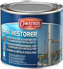 Owatrol Mast Restorer Metalle-Chrom-eloxierte Aluminium-Masten-Pflege Alu-Schutz