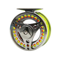 Fly Fishing Reel With Line Combo 3/4 5/6 7/8 9/10WT CNC Machined Fly Reel