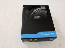 New in box, Sennheiser HD 650 Headband Headphones Genuine unopened carton