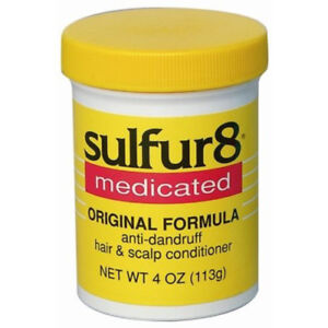 [SULFUR8] MEDICATED ORIGINAL FORMULA ANTI-DANDRUFF HAIR & SCALP CONDITIONER 4OZ