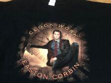 Easton Corbin Clock Work 2014 Tour Country Music Band Concert Men's 2XL T-shirt