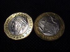1997 ITALIA £ 1000 LIRE bimetallico FDC 2° tipo da rotolino zecca by Mint Roll