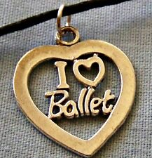 I _ LOVE _ BALLET  ~  NECKLACE --- (GREAT_CHRISTMAS_GIFT)