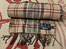 BARBOUR CASUAL SCARF MADE IN SCOTLAND ONE SIZE ORIGINAL