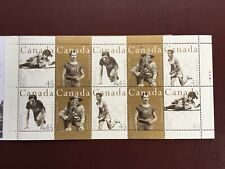 Canadian Stamp Booklet - 1996 CANADIAN OLYMPIC GOLD MEDALLISTS Pane of 10(BK192)