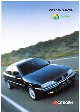 Citroen Xantia Dual Fuel 1.8 LPG LX 1999-2000 UK Market Foldout Sales Brochure