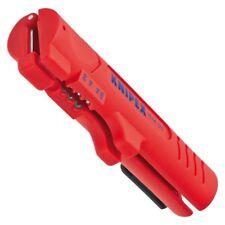 KNIPEX 1664125 - KNIPEX Abmantelungswerkzeug für Flach- und Rundkabel - 125 mm