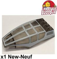 Lego - 1x Windscreen 10x6x2 Curved Cockpit Wipers 45705pb011 Sw 7931 New