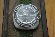 seiko bellmatic 4006-6021 brown dial, green band, everything working
