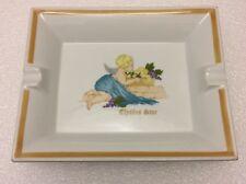 """Art Deco Rare Collectable Porcelain Plate 8"""" x 6,5"""" Hotel Élysées Star Paris"""