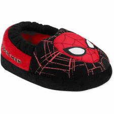 Spiderman Marvel Toddler Boys' Black/Red Aline Slip-on Slippers: S-5/6