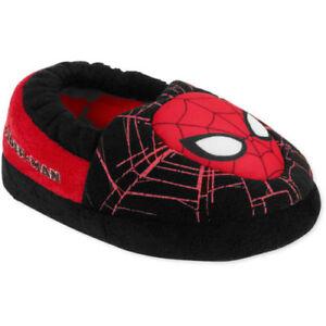 Spiderman Marvel Toddler Boys' Black/Red Aline Slip-on Slippers: S-5/6