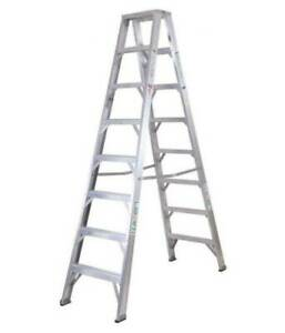 2.4M Aluminium Double sided Ladder