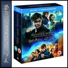The Wizarding World 9 Film Collection Blu-ray 2017 Region DVD 5051