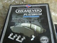 CARQUEST WEAREVER PLATINUM PROFESSIONAL CERAMIC DISC BRAKE PADS  PXD1645H