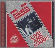 THE BUSINESS - LIVE AND LOUD (brand new still sealed cd) - MAYO CD 557