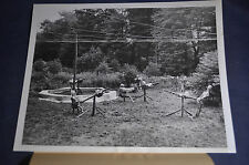 1943 *AUTHENTIC* WW2 Now You See it Now You Don't Camo Mitchel Field Press Photo