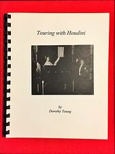 The Original Touring With Houdini Booklet By The Famous Magician's Assistant