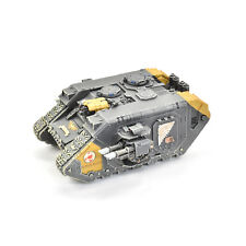 SPACE MARINES Land raider godhammer #2 PRO PAINTED Red Scorpions army