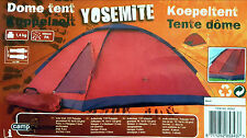 2 MAN PERSON BERTH DOME CAMPING TENT WATERPROOF LIGHTWEIGHT FESTIVAL OUTDOOR