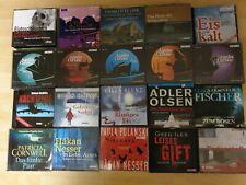 20 Krimi Hörbücher. Gebraucht. Verschiedene Autoren