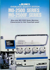 Juki MO-2500/2400 Series Industrial Sewing Machine 1983 Dealers Brochure Catalog