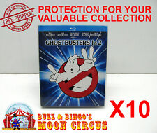 10X BLU-RAY DIGIBOOK MOVIE - SIZE B - CLEAR PLASTIC PROTECTIVE BOX PROTECTOR
