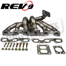 REV9 HP-Series For RB26 RB26DETT Equal Length T4 Top Mount Turbo Manifold