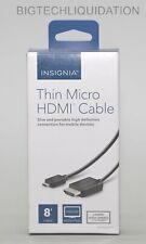 Insignia 8' Thin HDMI-to-Micro HDMI Cable - NS-PG08591