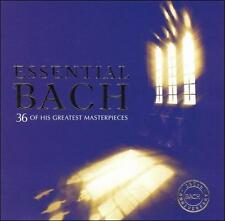 Essential Bach 2 Two Discs 36 Greatest Masterpieces Classical CD Music