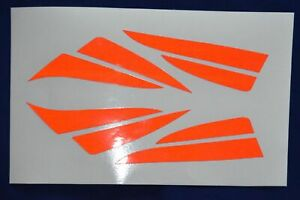 Rosenbauer Helmaufkleber HEROS-smart HEORS-xtreme Reflex Folie rot, silber, blau