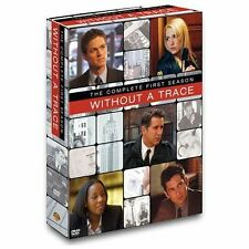 Without a Trace - The Complete First Season (DVD, 2004, 4-Disc Set) New/Sealed