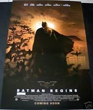 Batman Begins (2005) VERSION 6 MOVIE POSTER