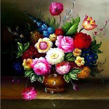 """Beautiful flower"" Triptych  counted cross stitch kits"