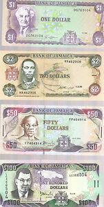 Jamaica Banknote Set