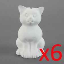 Ceramic Bisque Ready to Paint Your Own Pottery - Kitty Cat Money Box Bank