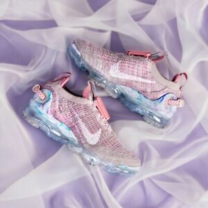 Nike Air Vapormax Flyknit 2020 Women's Trainers Pink White UK Size 5 EUR 38.5
