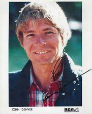John Denver signed 8x10 photo - RP