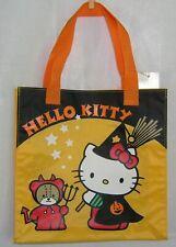 Hello Kitty Halloween Tote Treat Candy Bag Vintage Sanrio 2001 NWT