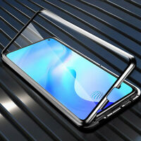 Magnetic Front Back Glass Case Phone Cover For Galaxy S20 Ultra S10 Plus A71 A51