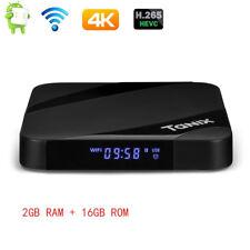 Tanix TX3 Max Android 7.1 BT4.1 Quad Core TV Box 4K 100Mbps LAN 2GB+16GB EU PLUG