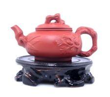 YiXing Zisha Clay HAND MADE Tree Bamboo Themed Teapot Tea Brewing 125ML #011018