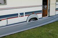 Eurotrail Universal Motorhome Caravan Draught Skirt 300x60cm Grey